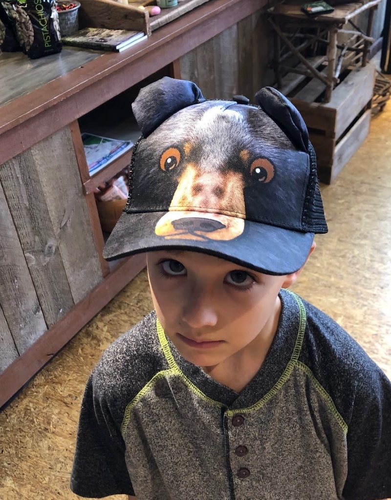Kids Black Bear Hat