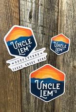 "Uncle Lem's UL's Sticker - 1.5"" x 1.5"""