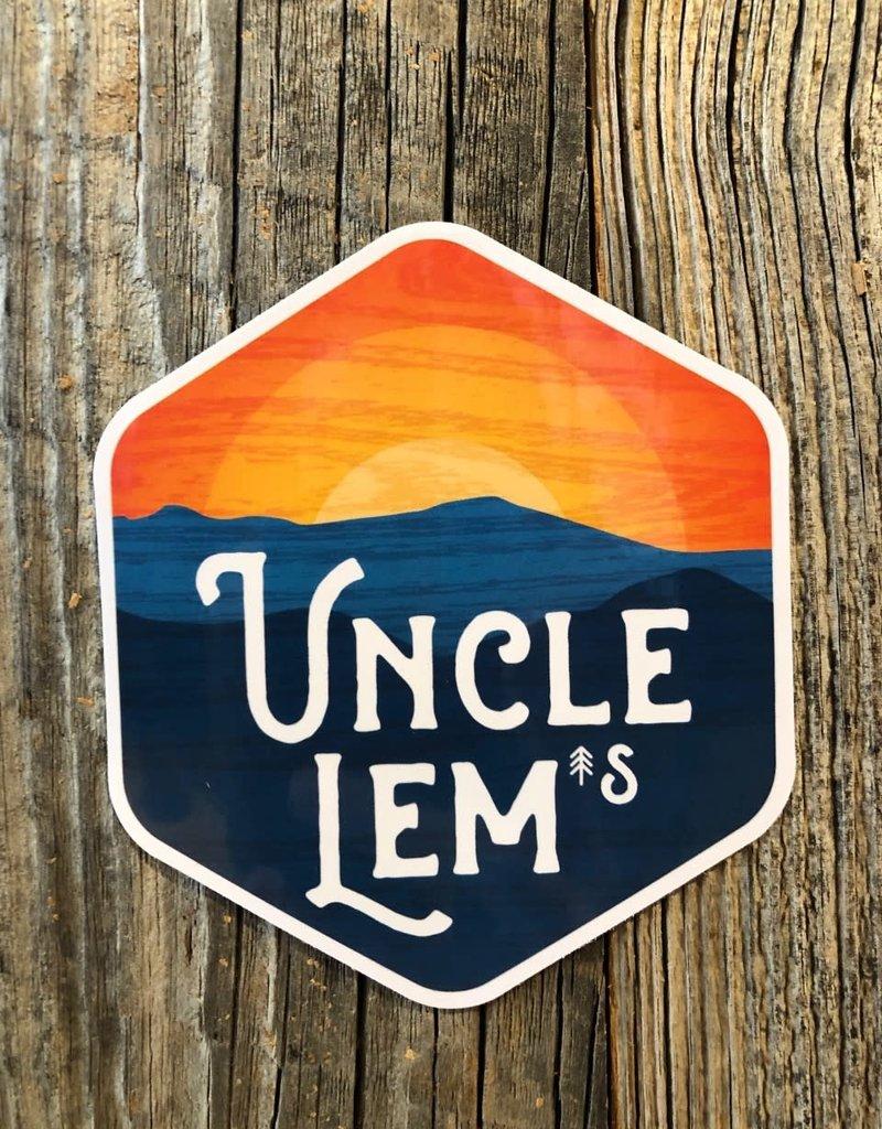 "Uncle Lem's UL's Sticker - 3.5"" x 3.5"""