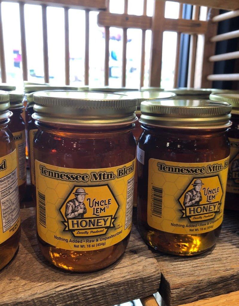 Uncle Lem's Raw TN Honey 16 oz
