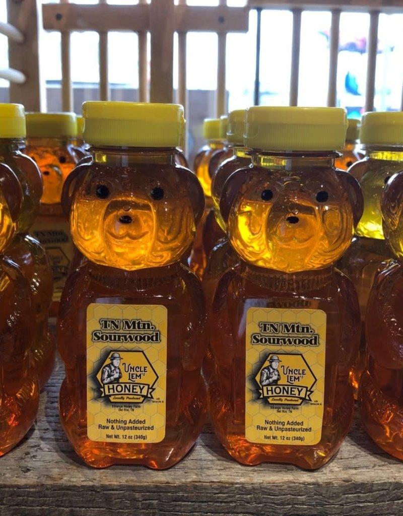 Uncle Lem's Raw TN Honey Bear