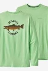 Patagonia Patagonia Men's L/S Cap Cool Daily Fish Graphic Shirt