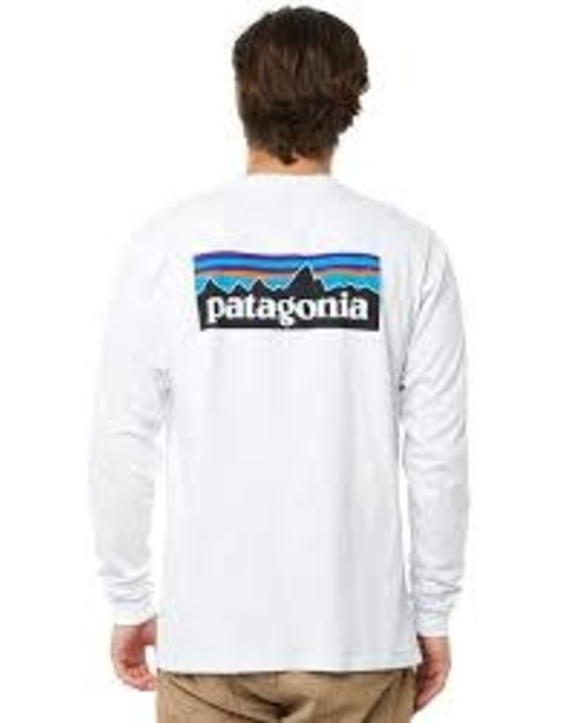 Patagonia Patagonia Men's Long Sleeve P-6 Logo Responsibili-Tee