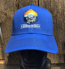 Uncle Lem's Ouray, Sideline Cap, Royal / Dk Grey