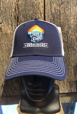 Uncle Lem's Sideline Cap, Navy/White