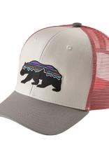Patagonia Patagonia Kids' Trucker Hat Fitz Roy Bear