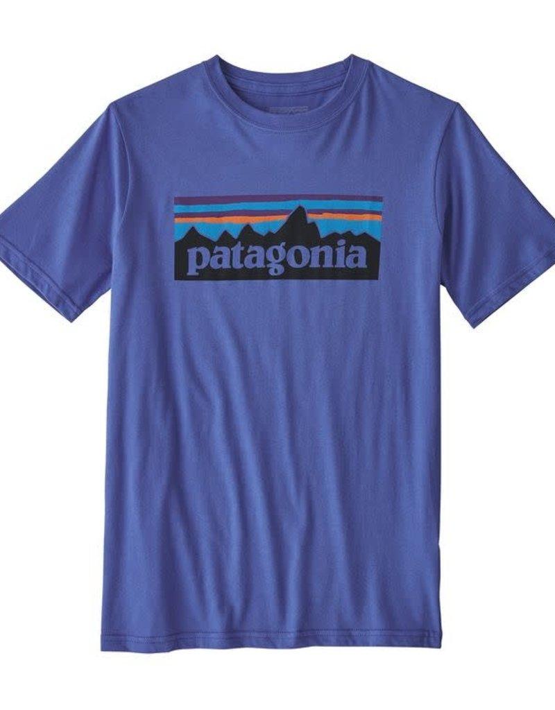 Patagonia Patagonia Boys' P-6 Logo Organic T-Shirt