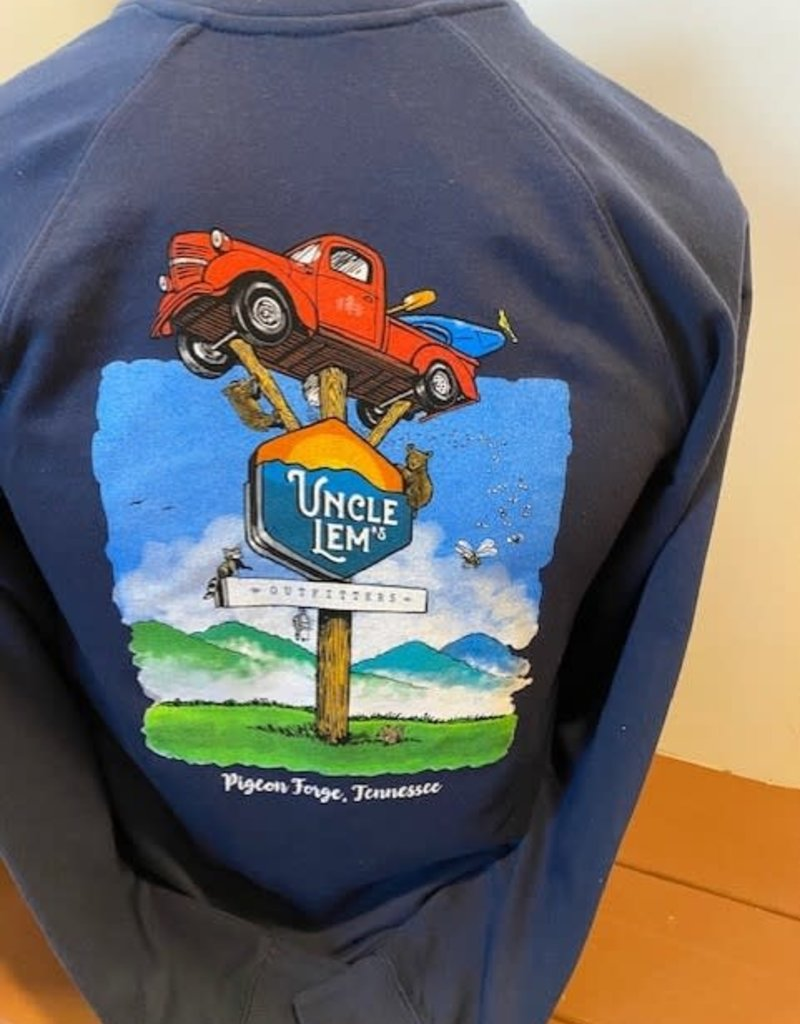 Uncle Lem's Truck - Lightweight Sweatshirt (SS1000C)