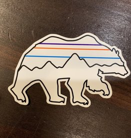 Patagonia Patagonia Back for Good Bear Sticker