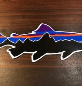 Patagonia Fitz Roy Trout Sticker