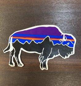 Patagonia Fitz Roy Bison Sticker