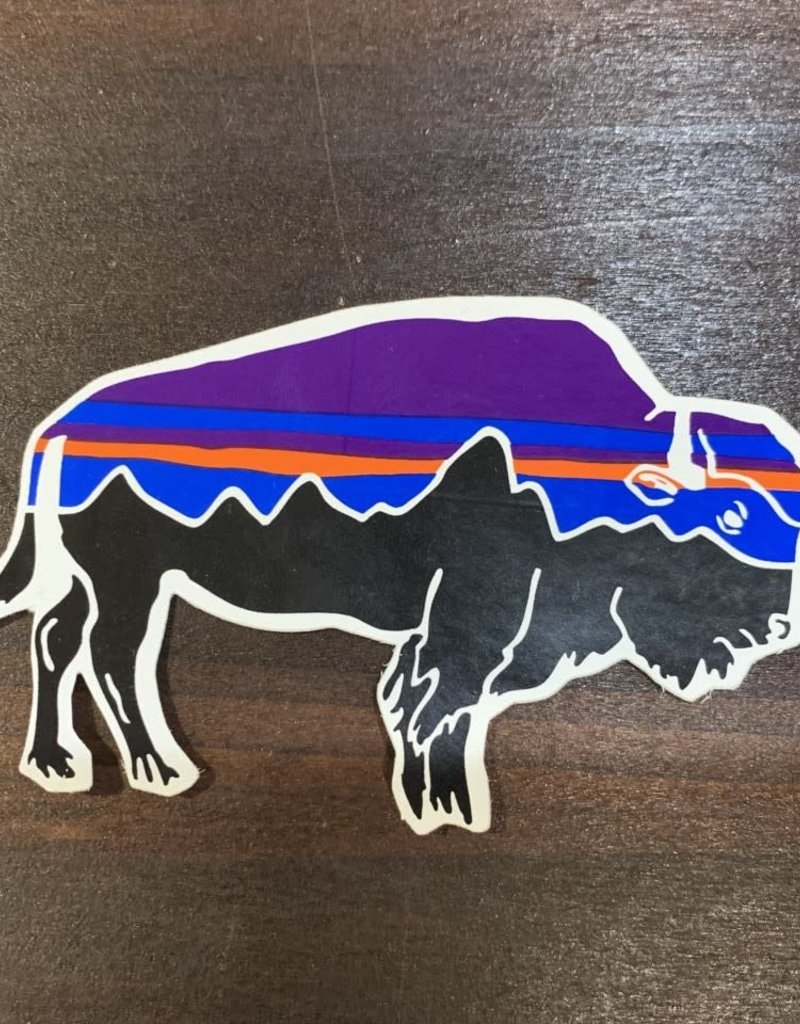 Patagonia Fitz Roy Bison Sticker
