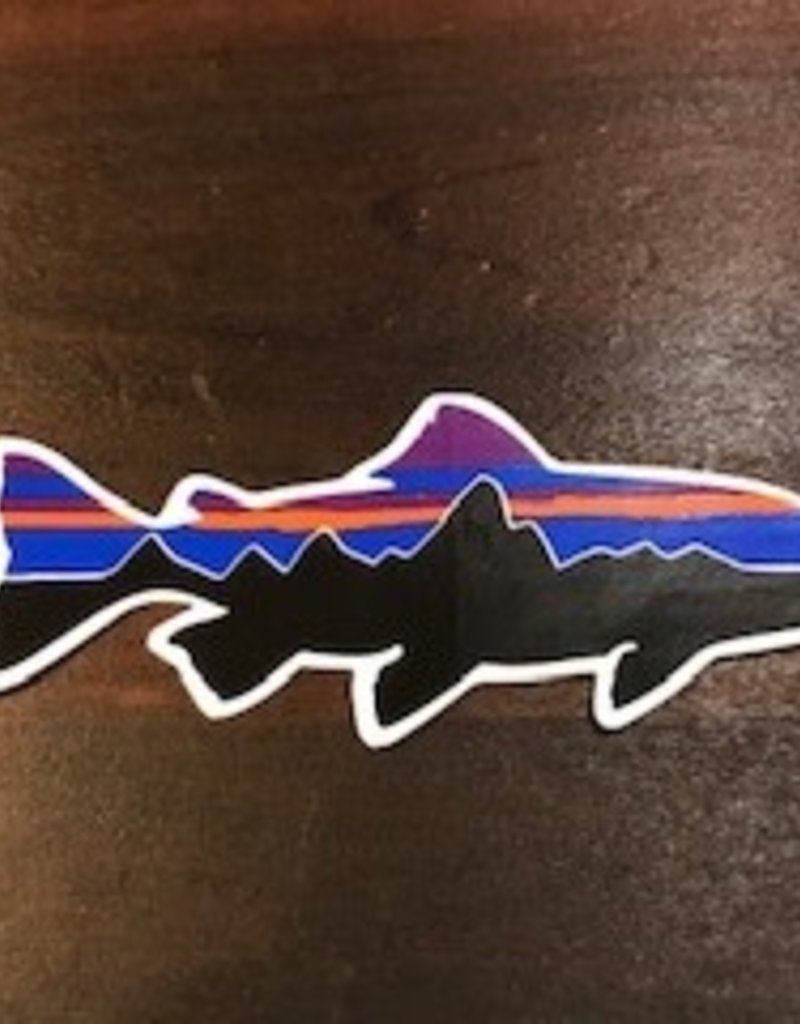 Patagonia Fitz Roy Small Trout Sticker