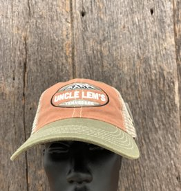 Uncle Lem's Ouray UL Legend Vintage Wash Trucker Cap Style # 51286