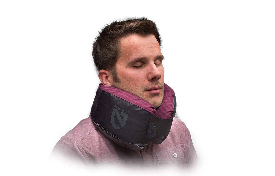Nemo Fillo HQ Travel Pillow (Purple Stripe)