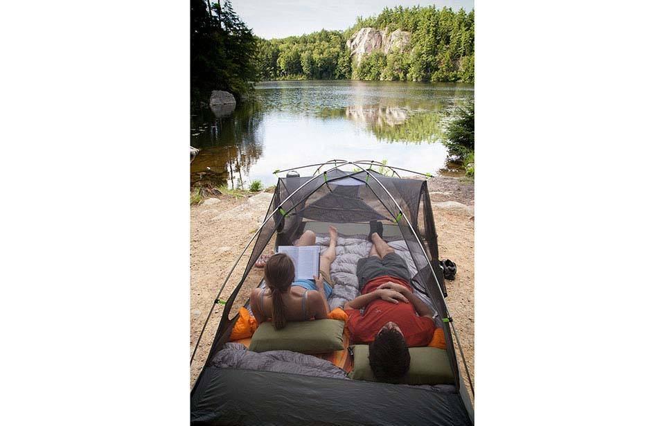 Nemo Fillo Luxury Backpacking & Camping Pillow (Nimbus Grey)