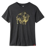 Men's Bison Illustration T-Shirt