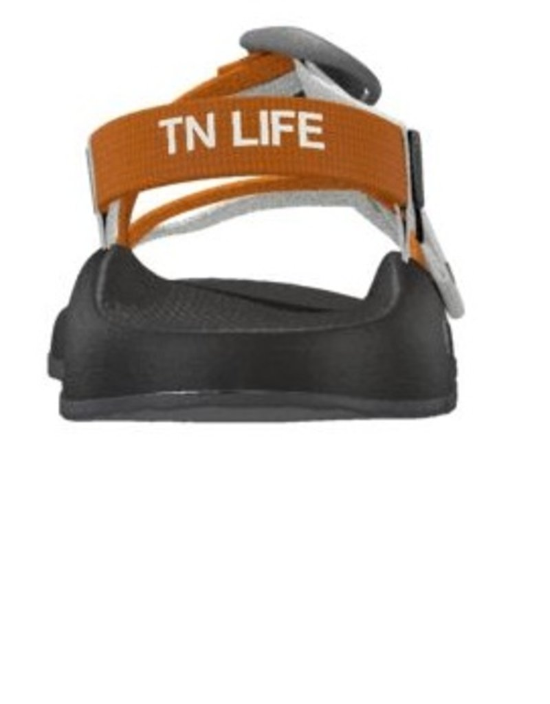 Chaco Chaco Women's ZX1 TN Life  Orange and White Sandal