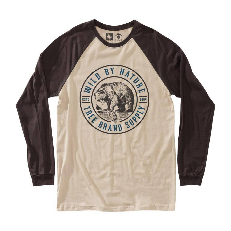 Hippy Tree Men's Grizzly Long Sleeve Tee