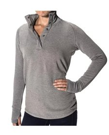 Women's Bamboo Thermal Fleece Pullover