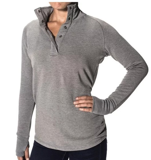 Free Fly Women's Bamboo Thermal Fleece Pullover