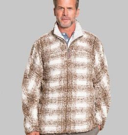 True Grit True Grit Big Plaid Frosty Tipped Pullover