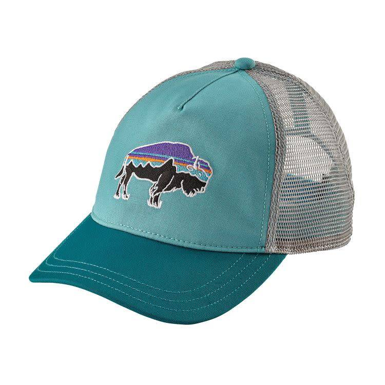 Women s Fitz Roy Bison Layback Trucker Hat - Uncle Lem s Outfitters a70da1324ad5