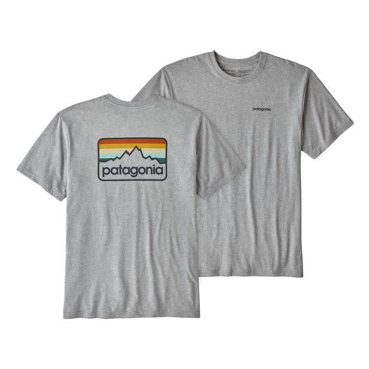 Patagonia Men's Line Logo Badge Responsibili-Tee