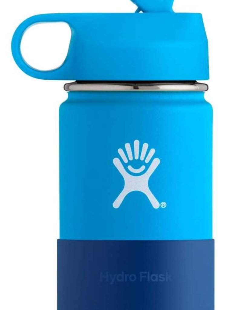 Hydro Flask Hydro Flask 12 oz Kids Wide Mouth with Straw Lid & Boot