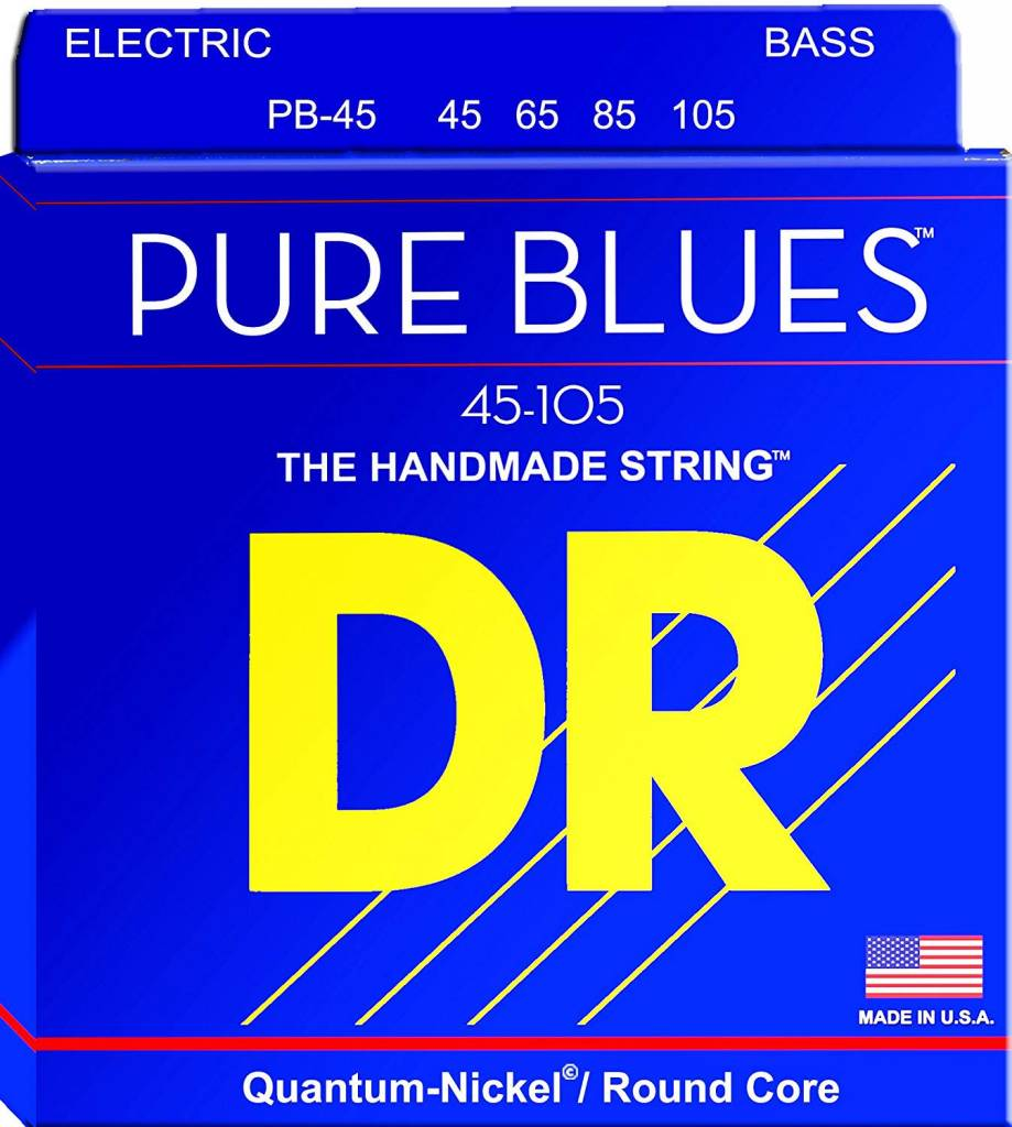 Dr Pure Blues PB-45 Bass Strings 45-105-1