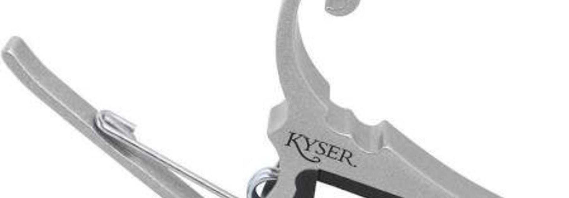 Kyser Capo Silver