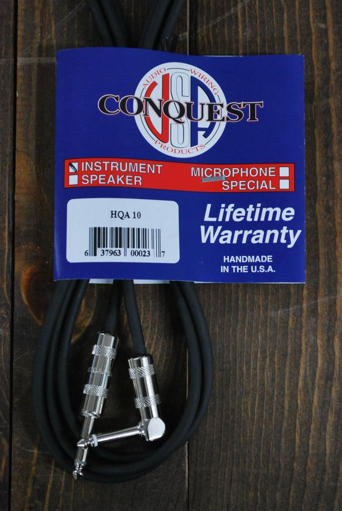 """Conquest  HQA 10ft  1/4"""" Str/ Angle-2"""