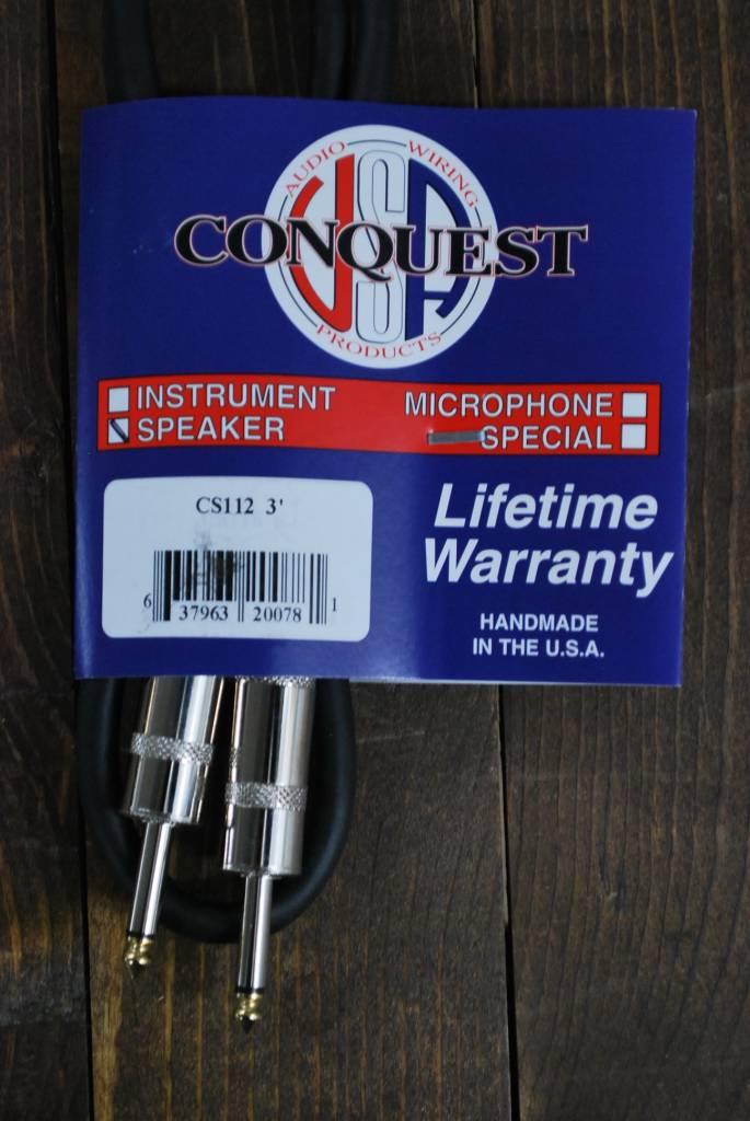 Conquest CS112 3ft Speaker Str/ Str-3