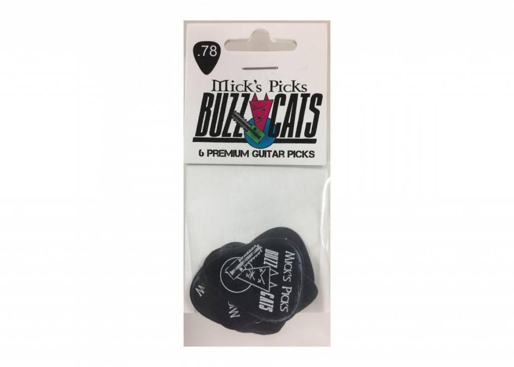 Buzz Cats .78 ( Black) 6 pack-1