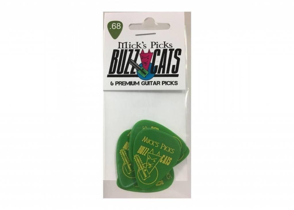 Mick's Picks Buzz Cats .68 ( Green)6 pack
