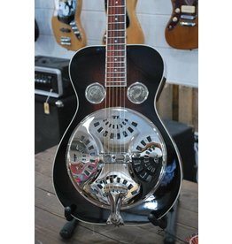 Recording King Recording King RR-36-VS Maxwell Series Round Neck Resonator - Vintage Sunburst