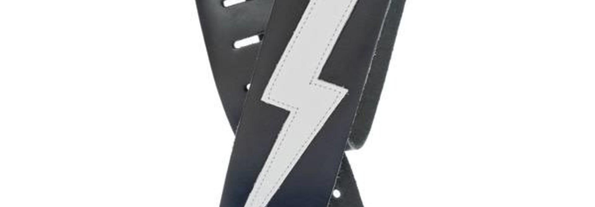 D'addario Leather Icon LIghtning