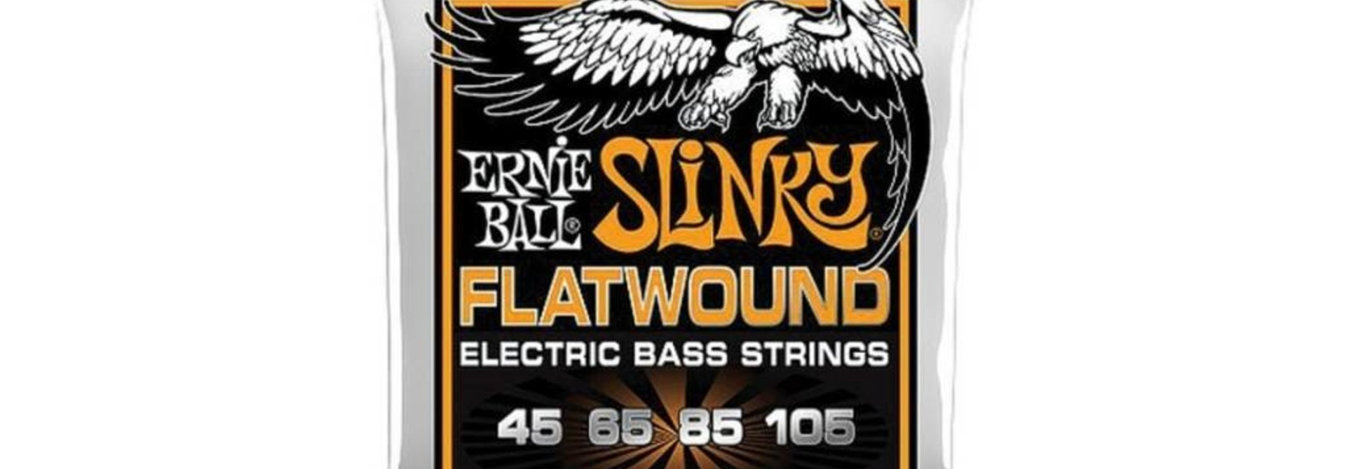 Ernie Ball Flatwound Cobalt Hybrid Slinky Bass Strings (45-105) 2813