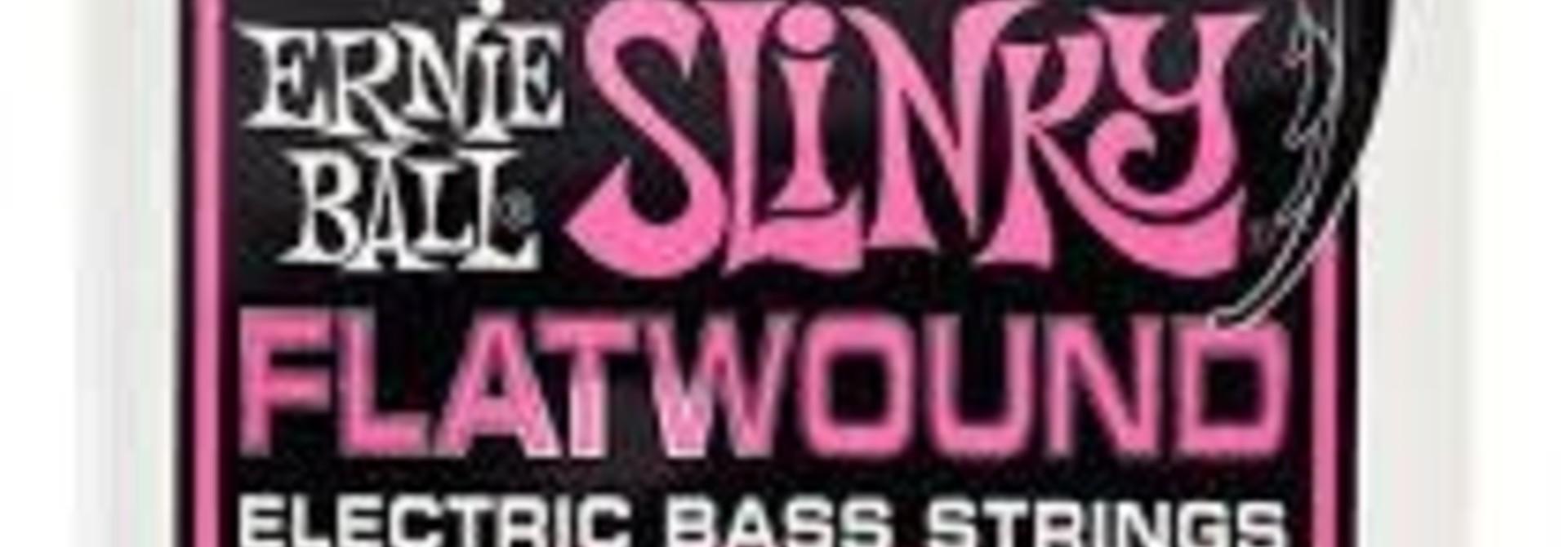 Ernie Ball Flatwound Cobalt Super Slinky Bass Strings (45-100) 2814