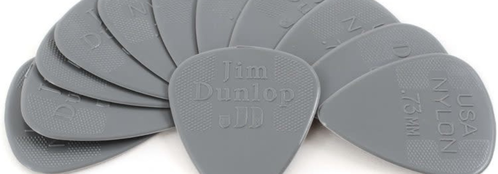 Dunlop Nylon Standard .73mm Pick 12-Pack
