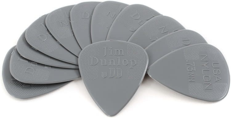 Dunlop Nylon Standard .73mm Pick 12-Pack-1