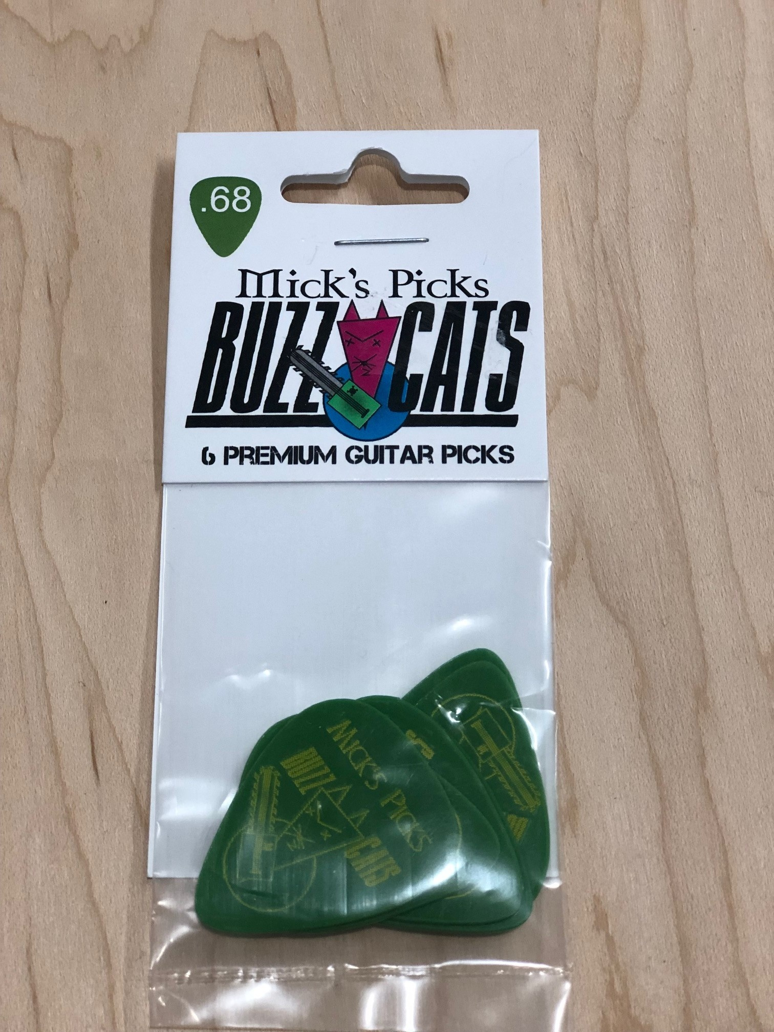 Buzz Cats .68 ( Green)6 pack-2
