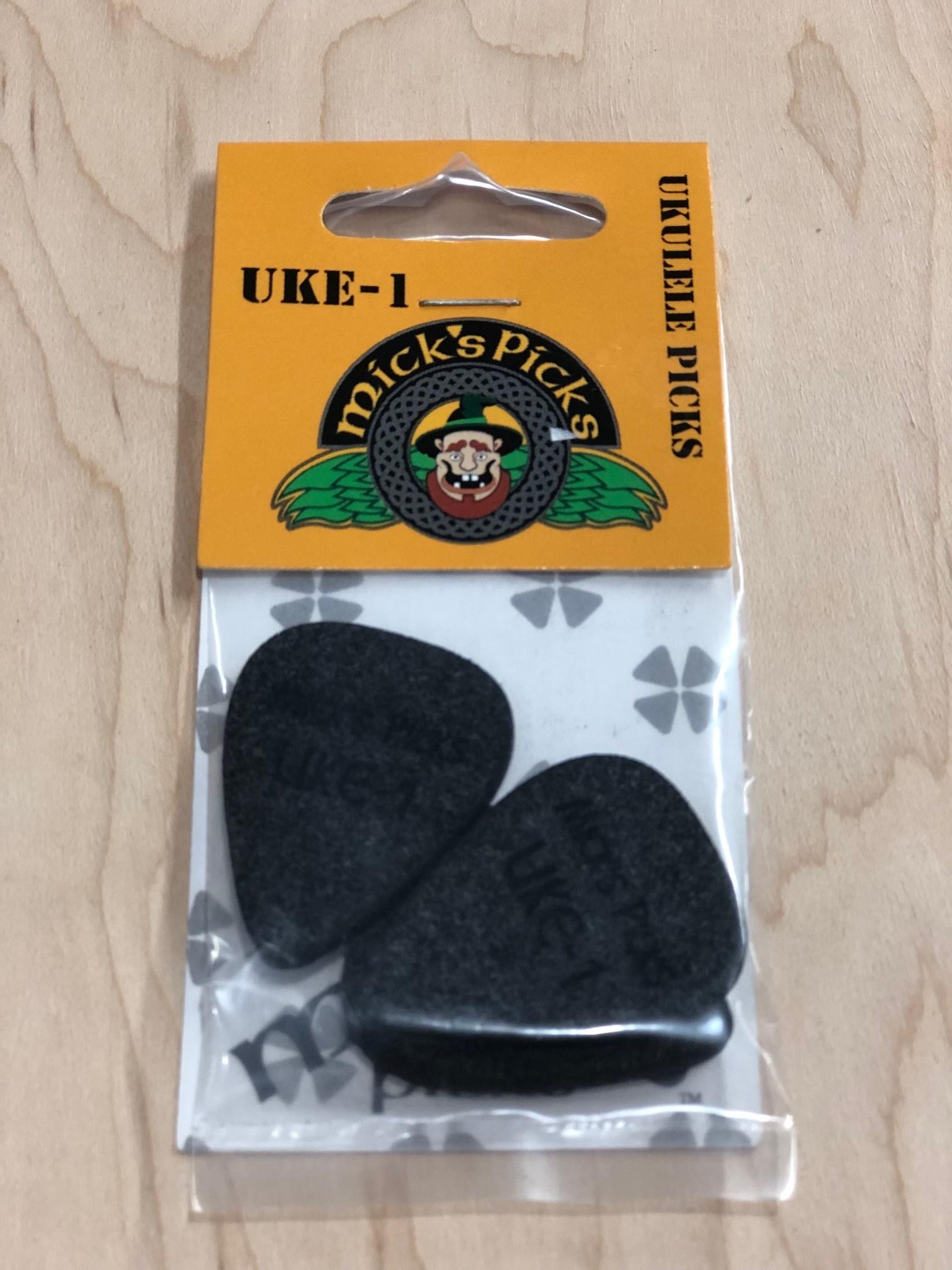 Uke-1 2.55mm (Black) 3 pack-2