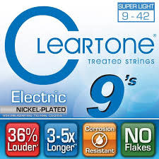 Cleartone Super Light 9-42 Electric Strings-1