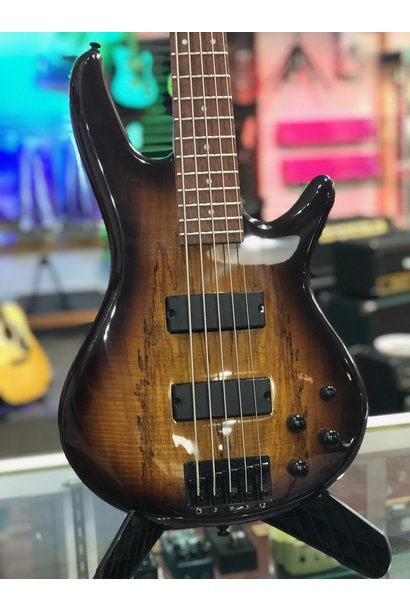 Ibanez GSR205SM 5-String Electric Bass  Charcoal Brown Burst
