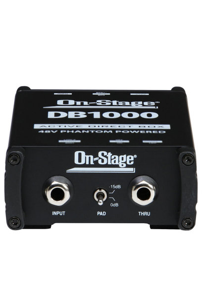 On-Stage DB1000Active DI Box