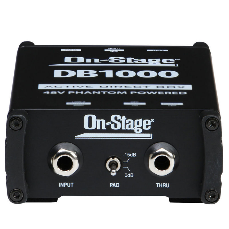 On-Stage DB1000Active DI Box-1