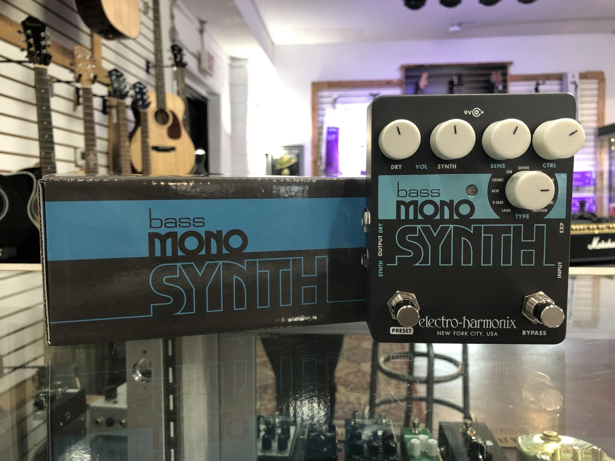 EHX Bass Mono Synth-2