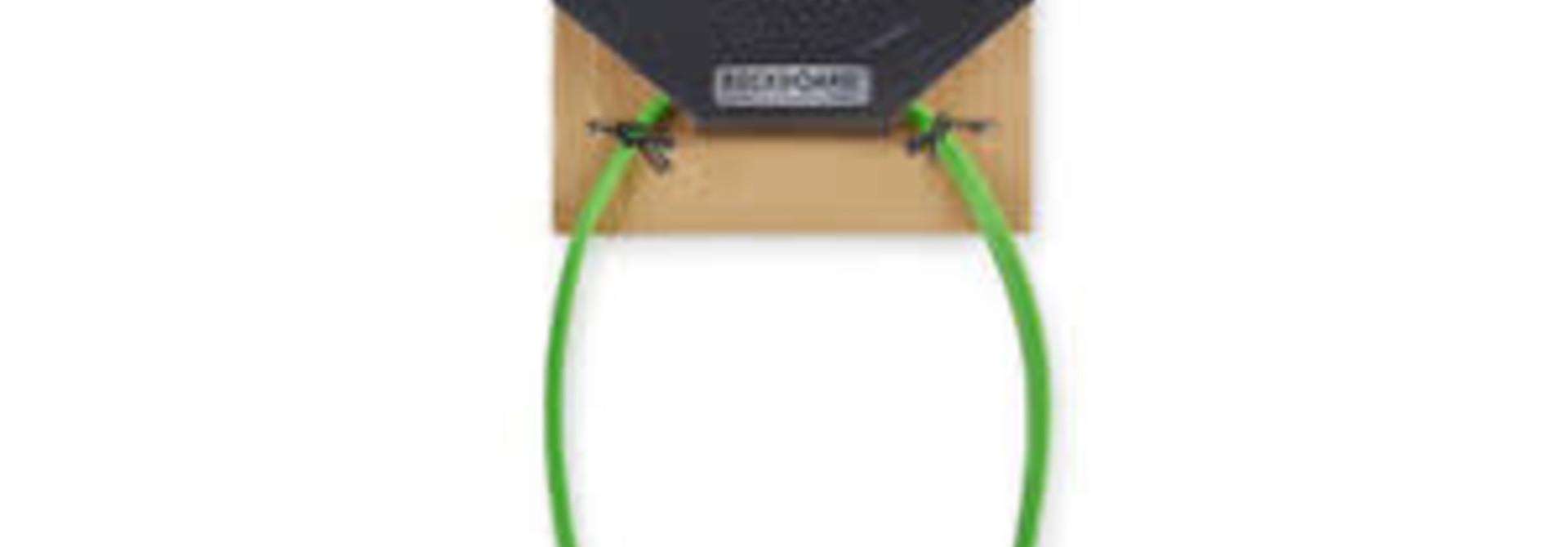 """RockBoard Flat Midi Cable 11 13/16"""" (Green)"""