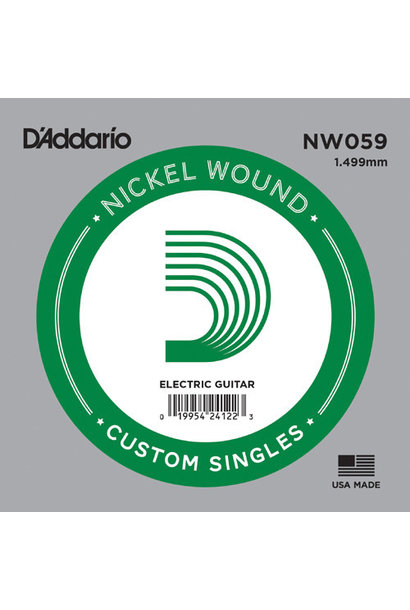 D'Addario NW059 Custom Single .059